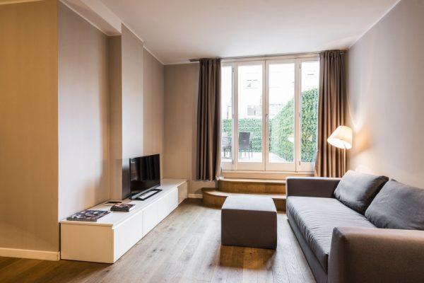 Appartamento con splendida terrazza abitabile